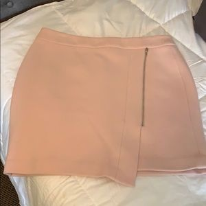 WHBM Pink mini skirt
